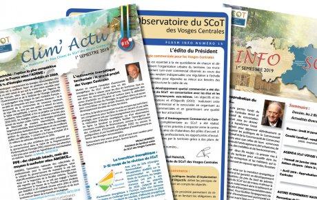 Téléchargez les dernières publications du SCoT